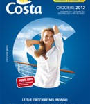 "Costa Crociere – ""Catalogo 2012″"