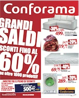 Conforama grandi saldi volantinoweb for Conforama black friday