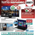 Darty &#8211; &#8220;Offerte a tutto risparmio&#8221;