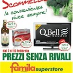 Famila &#8211; &#8220;Prezzi senza rivali&#8221;