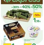 "Carrefour Express – "" -30%, – 40%, -50%"""