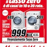 "Mediaworld – ""10 o 20 rate a tasso zero"""