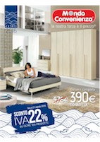 Mondo convenienza sconto iva 22 volantinoweb for Bricocenter catalogo 2016