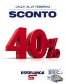 """Esselunga – """"Sconto 40%"""""""