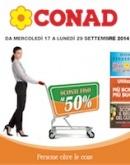 """Conad – """"Sconti fino al 50%"""""""