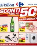 """Carrefour – """"Sconti fino al 50%"""""""