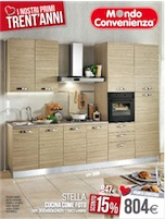 Mondo convenienza catalogo cucine 2015 volantinoweb for Bricocenter catalogo 2016